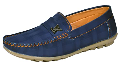 Buy Onbeat Kids Casual Blue Loafer at
