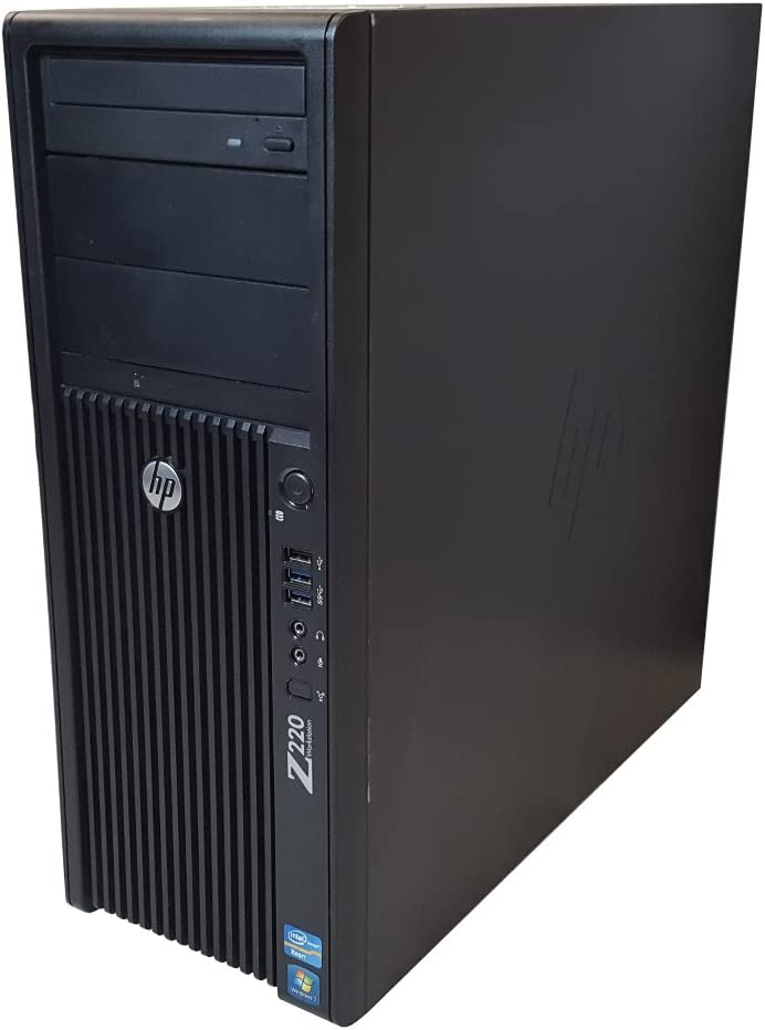 HP Z220 Desktop Workstation Tower - Intel Core i7 up to 3.9GHz, 16GB RAM, 1TB HDD, Windows 10 Pro (Renewed)