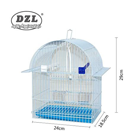 DZL® Jaula para PÁJARO 24X18,5X29CM (Azul): Amazon.es: Productos ...