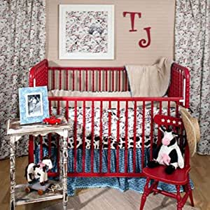 Amazon Com Boy S Crib Bedding Retro Cowboy By New