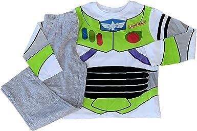 Pijama infantil de Disney Toy Story 4 con Woody, con cremallera y forky, ropa de noche para niños, 100% algodón, conjunto pijama de manga larga y pantalón blanco 3 Años: Amazon.es: Ropa