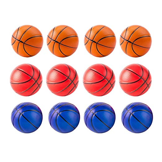 Toyvian Squeeze Toy Mini balón antiestrés Baloncesto para Alivio ...