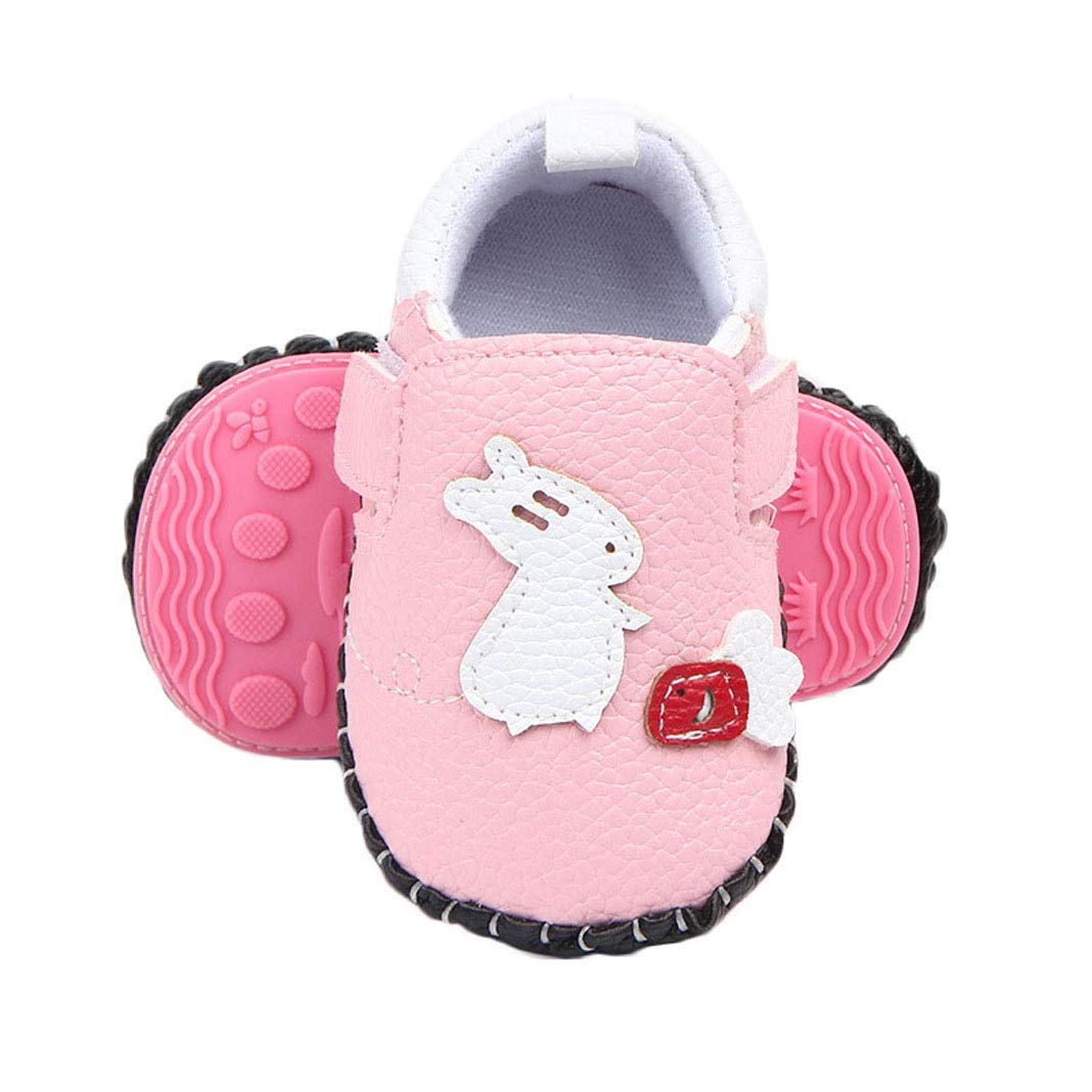 Baby Girls Boys PU Leather Shoes Cute Butterfly Animal Soft Sole Toddler First Walkers Shoes
