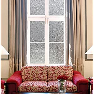Decorative Window Film Mosaic Window Covering Heat Control