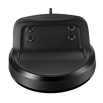 IPOTCH Cargador de Carga Magnética Base Dock para Samsung Gear Fit2 SM-R360 Reloj Inteligente