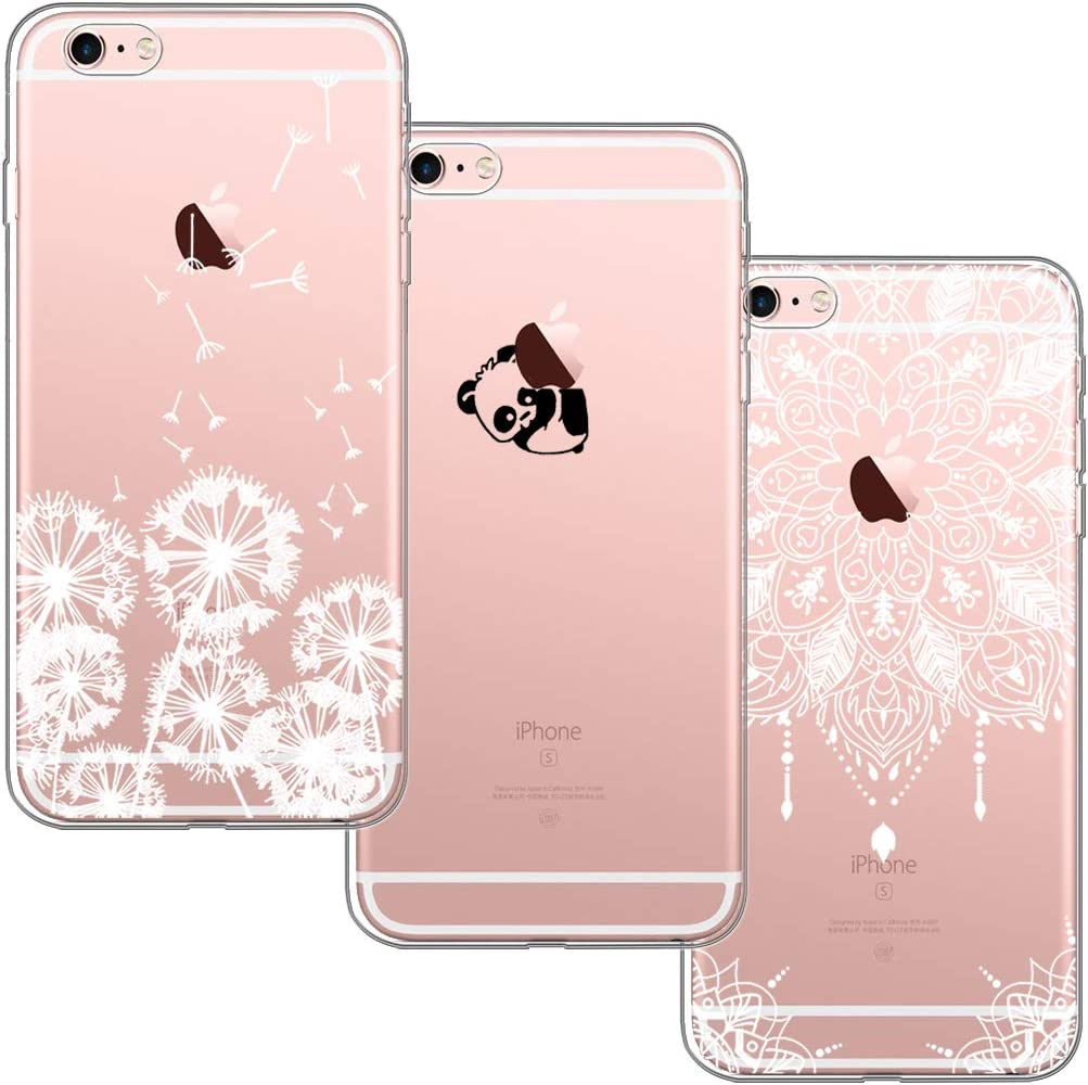 Ultra Slim Thin PC TPU Silicone Cover Iphone 8 7 6 6S Plus Fundas