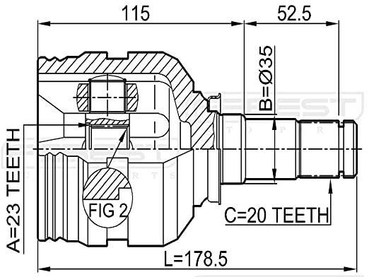 Camry Cv Joint Diagram