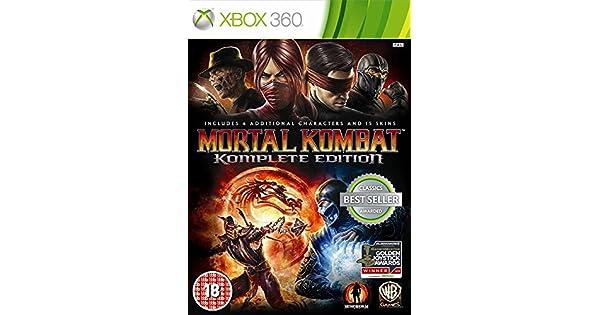 Mortal Kombat - Komplete Edition: Amazon.es: Videojuegos