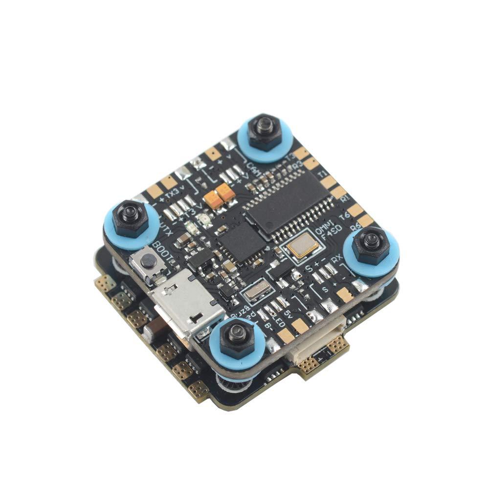 VIDOO Skystarts ミニターボに内蔵された F4 フライトコントローラ Osd 5V 2A Bec および 20A Blheli_S 4 In 1 Esc 20x20Mm B07R5N9RQ2