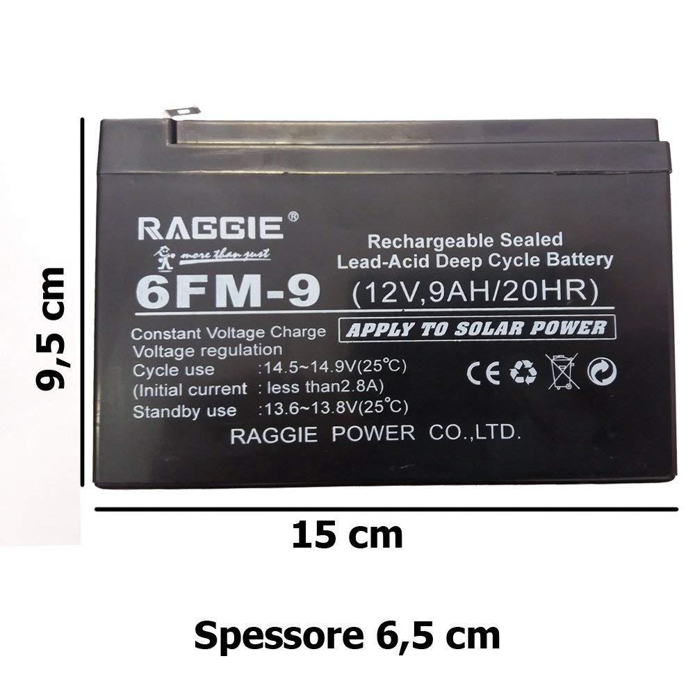 DOBO® batería hermético de Plomo ataques faston Color Negro ...