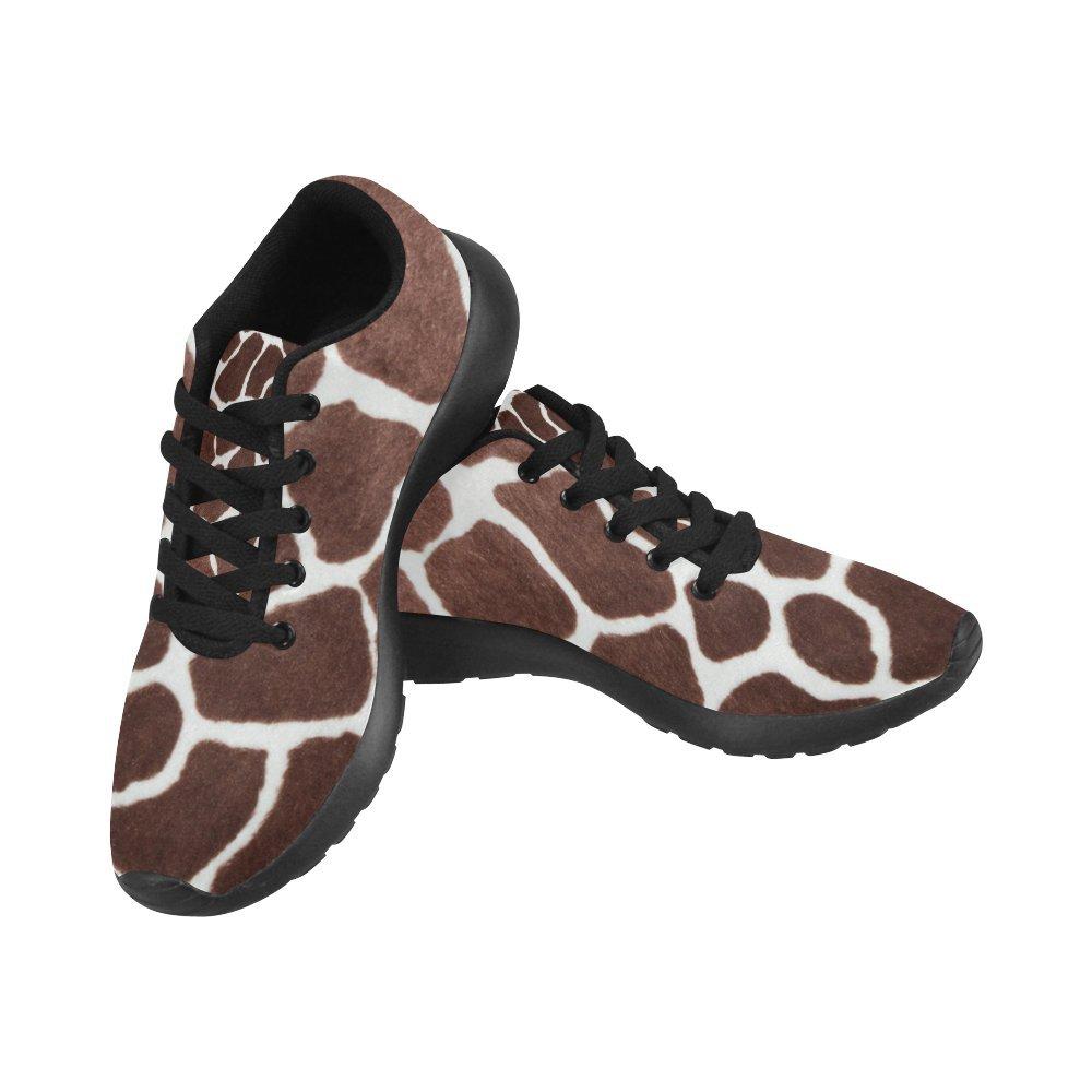 InterestPrint Women's Jogging Running Sneaker Lightweight Go Easy Walking Comfort Sports Athletic Shoes Giraffe Print 8 B(M) US = EUR38