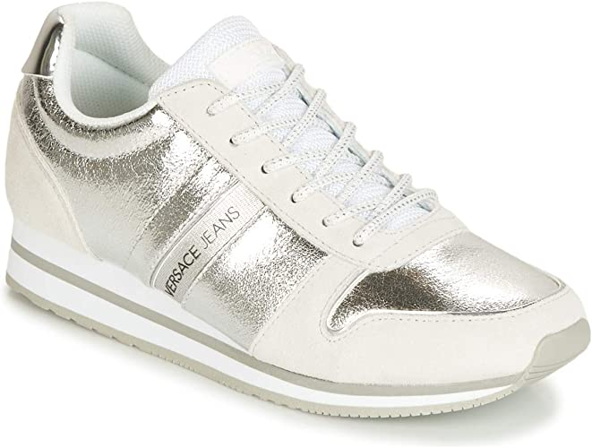 Versace Jeans Women's Trainers silver
