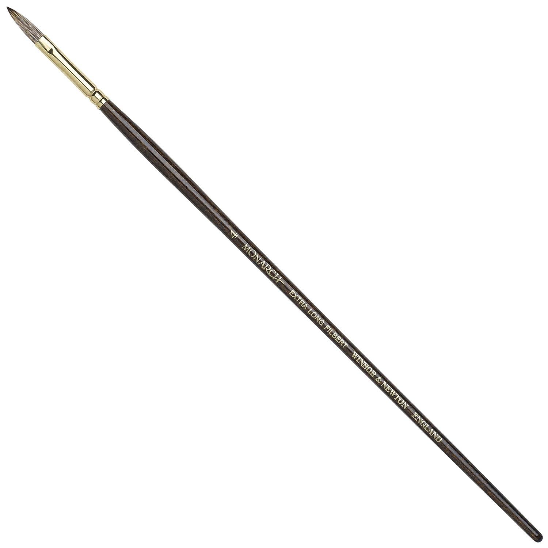 Winsor /& Newton Monarch Round Long Handle Brush Size 8