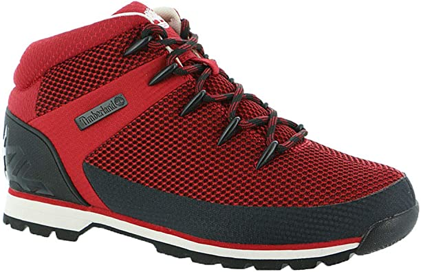 Maniobra Sucio triunfante  Amazon.com: Timberland Euro Sprint, Botas para hombre, Rojo, 10: Shoes