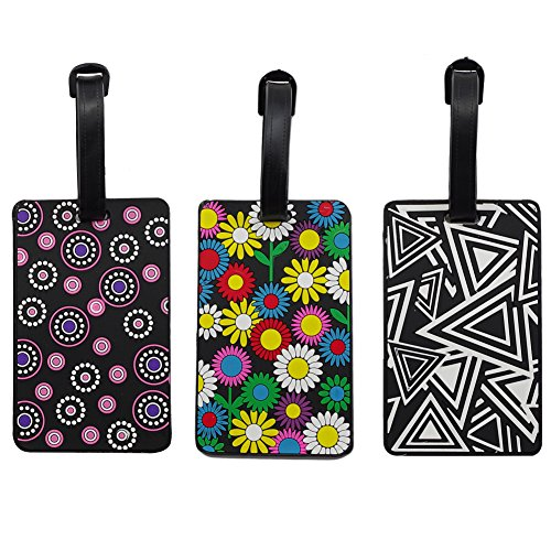 Luggage Tags - Lalonovo Luggage Tags - Business Card Holder - Travel...