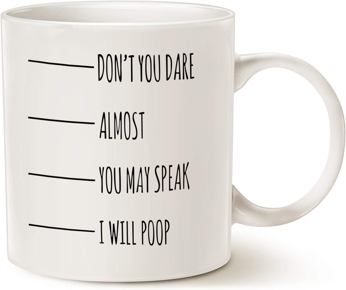 Funny quotes coffee cups mugs Holiday joke gift |