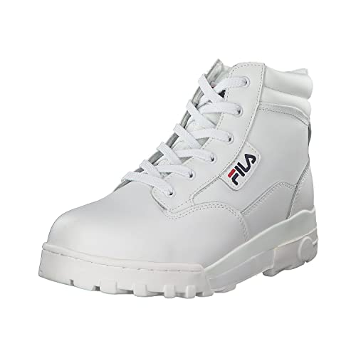 Fila Men's Grunge L Mid Low-Top Sneakers White Size: 11.5 ...