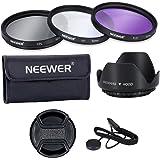 Neewer 52mm, Professionale Lenti Filtri, Accessori Kit UV, CPL, FLD e Paraluce NIKON D7100 D7000 D5200 D5100 D5000 D3300 D3200 D3100 D3000 D90 D80