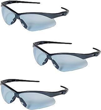 JACKSON SAFETY 19639 V30 Nemesis Safety Glasses Blue Frame And Blue