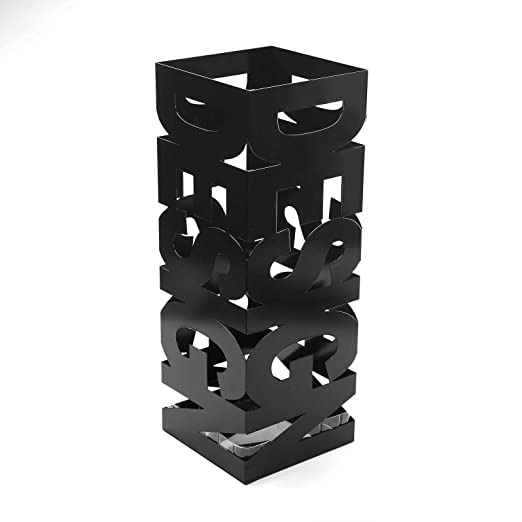 56 opinioni per Versa- Portaombrelli Design, Nero, 19x19x52 cm