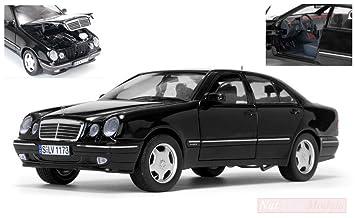 Mercedes-Benz E-Klasse W210 E320 Limousine Silber 1995-2002 1//18 Sun Star Mode..