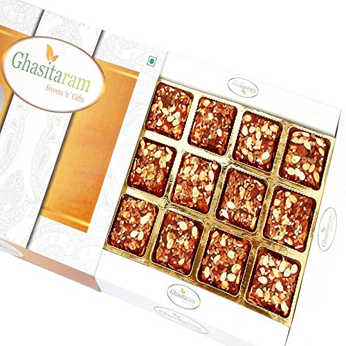 Ghasitaram Gifts Diwali Gifts Sweets - Sugarfree Healthy Energy Cereal / Seeds Anjeer Bites