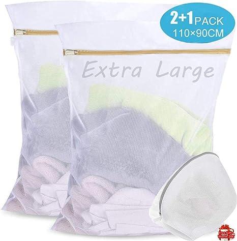 Filet sac de lavage pour machine à laver dimension 50x60cm