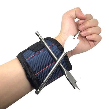 Kit de herramientas de pulsera magnética, soporte para clavos de ...