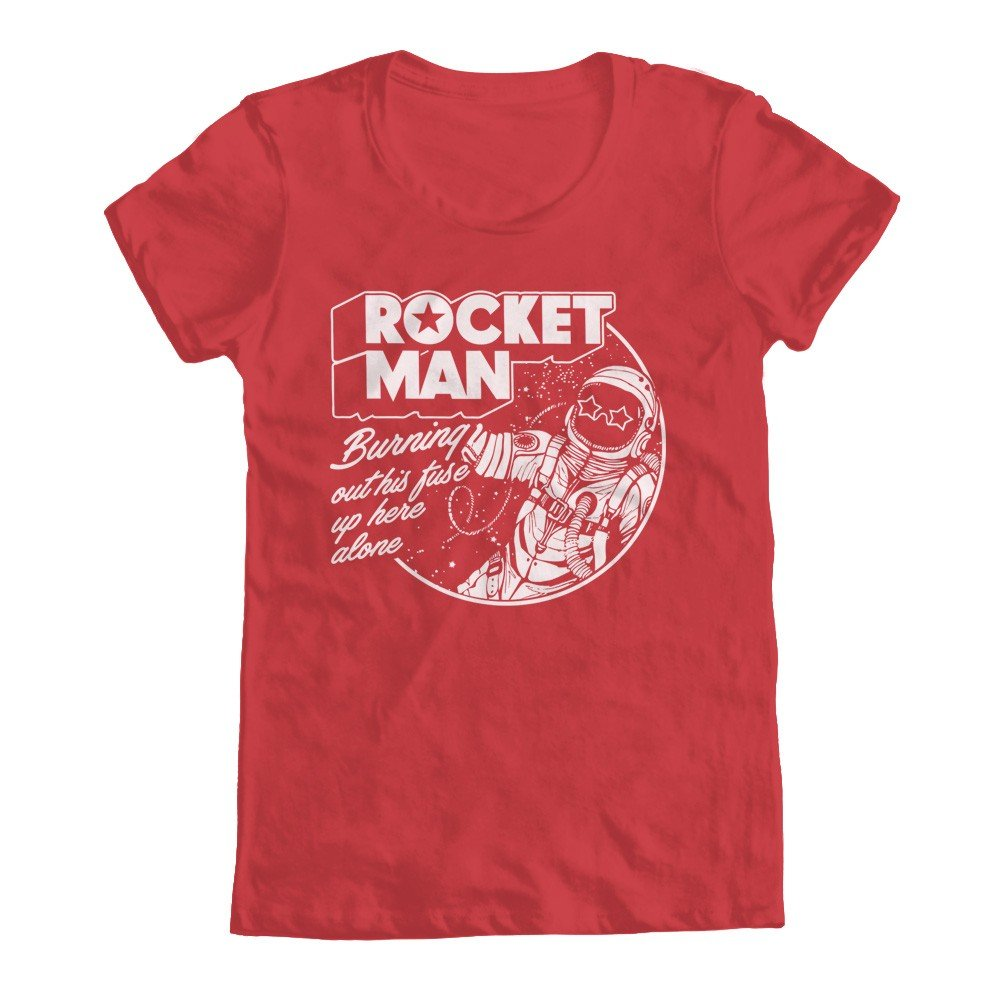 Rocket Man Tribute S Shirts