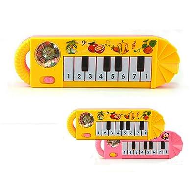 Elevin(TM)???????? Baby Kids Musical Educational Animal Farm Piano Developmental Music Toy: Toys & Games