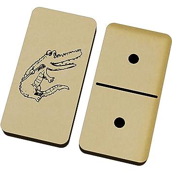 Azeeda Cocodrilo con Cepillo de Dientes Domino Juego y Caja (DM00003901)