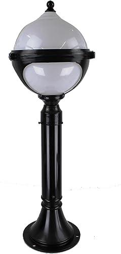 Lámpara de Bola de Exterior, Lámpara de Pie Decorativa para Jardin - Estilo Paris Iluminación de Jardín: Amazon.es: Iluminación