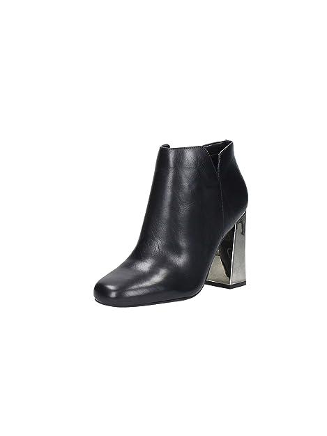 Guess FLHEL3LEA10 Botines Tobilleros Mujer Cuero Negro 38: Amazon.es: Zapatos y complementos