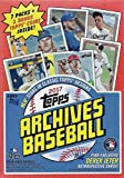 2017 Topps Archives MLB Baseball Series Unopened Blaster Box with a Chance for Aaron Judge Rookies and Possible Exclusive Derek Jeter Retrospective Cards
