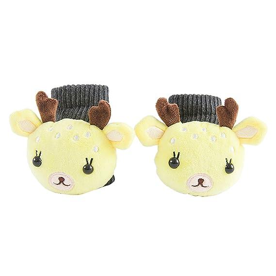 BESTOYARD Bebé Infantiles Algodón Calcetines niños Calcetines de invierno juguete regalo peluche para muchachas chicos (