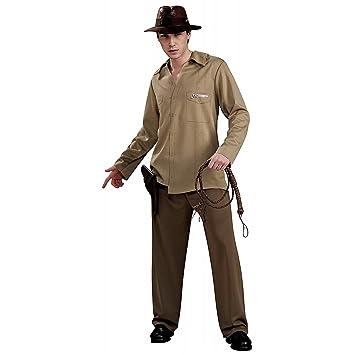 Disfraz oficial de Indiana Jones para hombre  Amazon.es  Juguetes y ... d4f4da79854