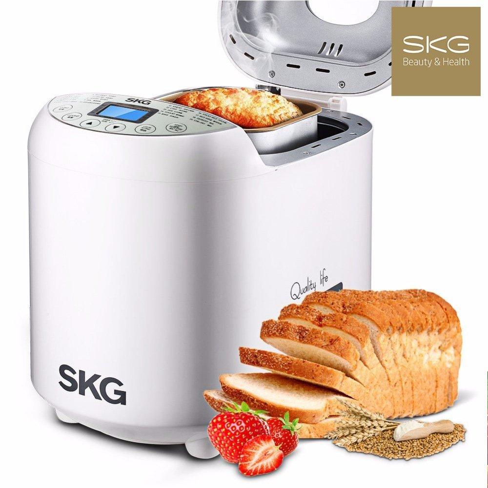 SKG Automatic Bread Machine 2LB - Beginner Friendly Programmable Bread Maker by SKG (Image #1)