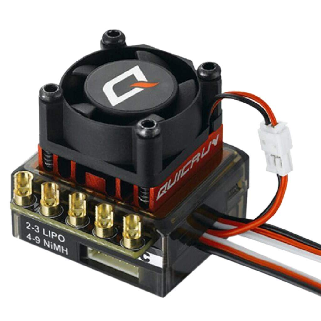 DDLmax HobbyWing QuicRun 1:10/1:12 Waterproof Inductive Brushless 60A ESC for RC Car by DDLmax (Image #2)