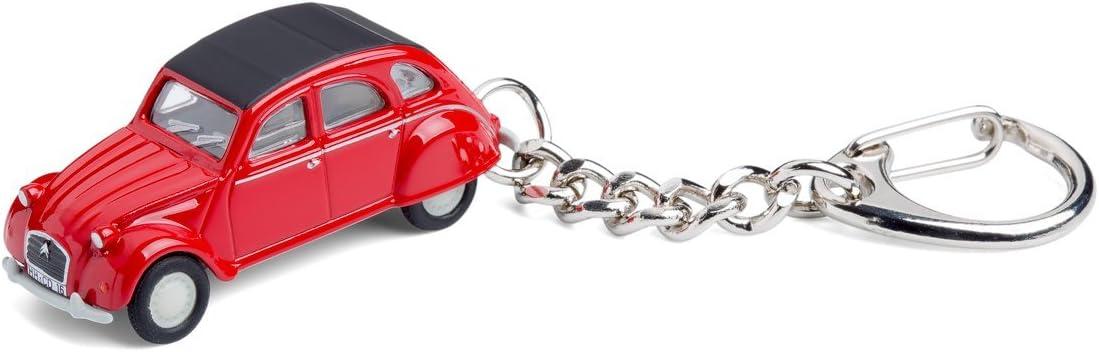 Corpus Delicti Schlüsselanhänger Mit Citroën 2cv Rot Modellauto Für Alle Auto Und Oldtimerfans 20 9 27 Küche Haushalt