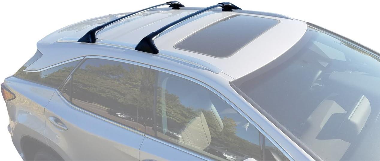 BRIGHTLINES 2016-2019 Lexus RX350 RX450H Non-Panoramic Cross Bars Roof Racks