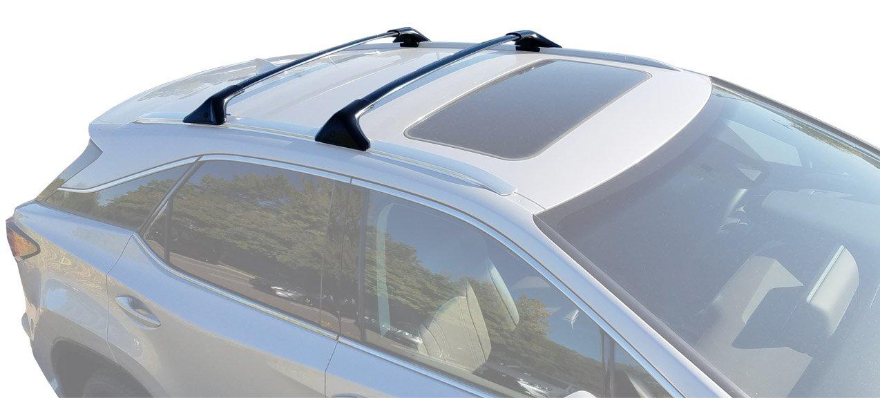 Amazon.com: BRIGHTLINES 2016 2017 Lexus RX350 RX450H Cross Bars Roof Racks:  Automotive