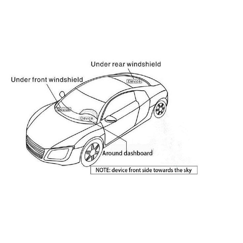 VORCOOL Rastreador de GT06 GPS gsm GPRS Antirrobo en Tiempo Real Portátil para Coche Moto Vehículo: Amazon.es: Coche y moto