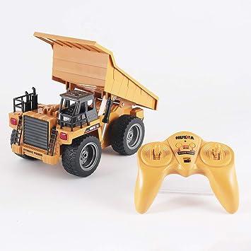 ... Remoto Metal Die Construction 1:18 Modelo a Escala Excavadora Tractor Excavadora Trolley Rodillo Compresor Bulldozer (A): Amazon.es: Juguetes y juegos