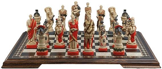 Studio Anne Carlton Spartacus - Juego de ajedrez (13 cm, en Caja ...