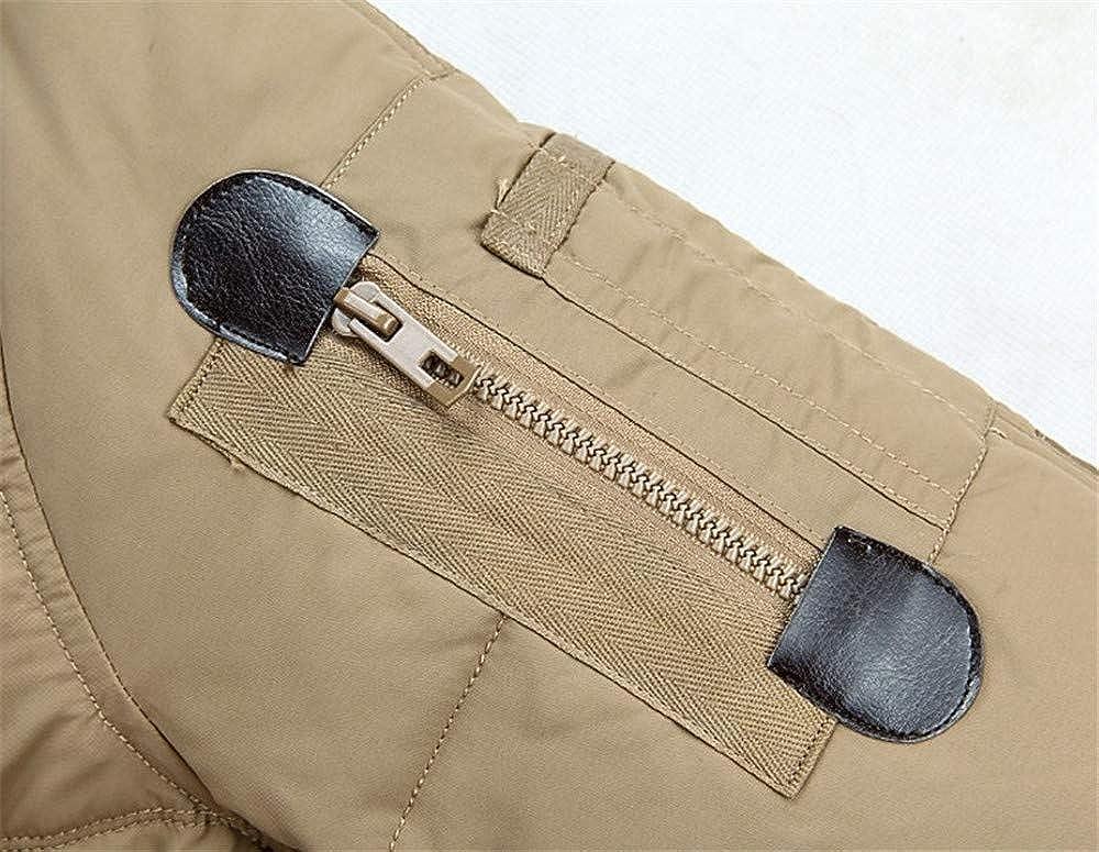 Wehor Winter Men Short Outdoor Casual Warm Fur Collar Hooded 70/% Duck Down Jacket