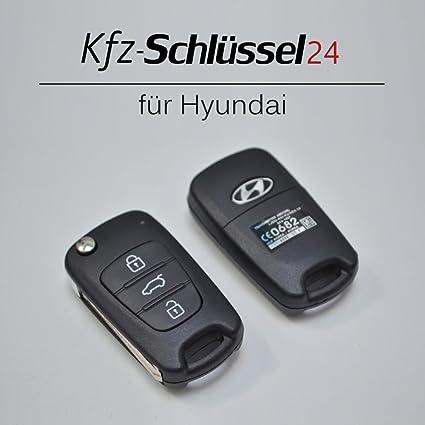 Carcasa para mando de Hyundai i10 i20 i30 ix35 ix20 Elantra ...