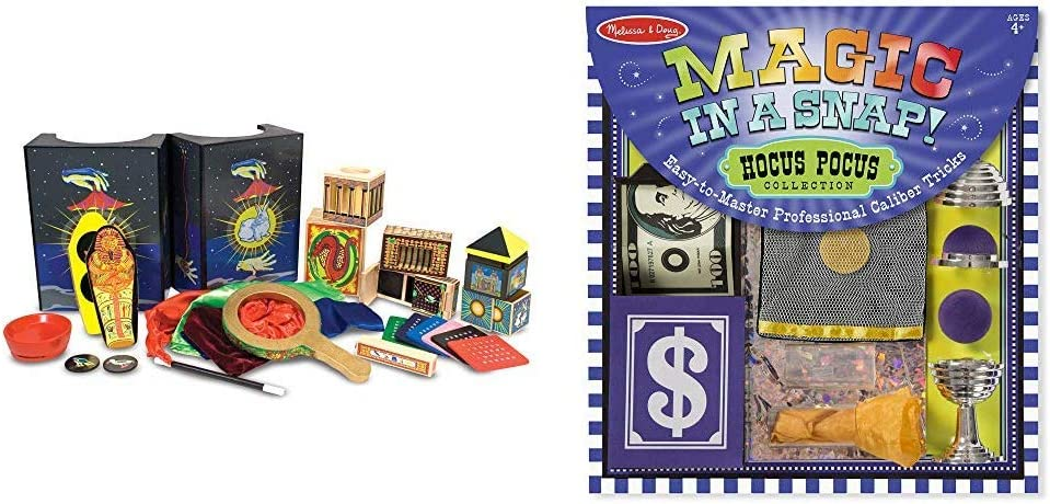 Melissa & Doug Deluxe Magic Set (3.8