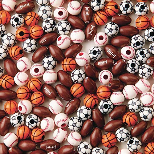 Color Splash! Sport Bead Assortment (Bag of 144)