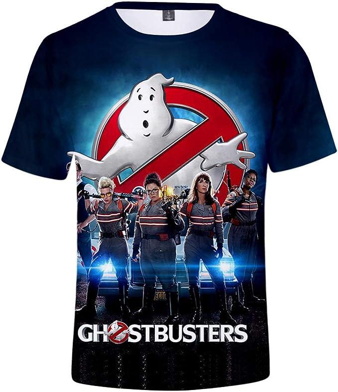 Ghostbusters Maglietta Maniche Corta per Ragazzi