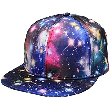 LEANO Kids Baseball Cap Casual Fashion Starry Pattern Adjustable Dome Summer Visor Hat Baseball Caps